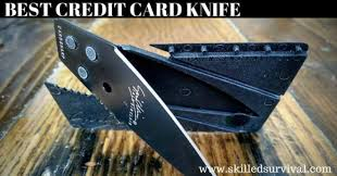 7 Best <b>Credit Card Knives</b> For Survival and Preparedness