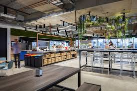 Office design sydney Melbourne Lets Step Into The Kitchen Business Insider Inside Atlassian We Got An Exclusive Look At The Tech Companys New