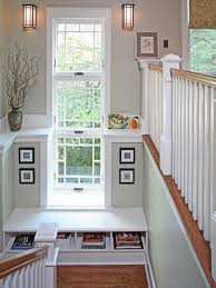 stair landing home design ideas pictures remodel and decor