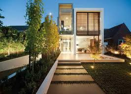contemporary tiny houses. Awesome Contemporary Tiny Houses With Landscaping