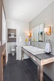 owners bathroom reclaimed oak