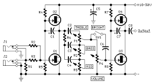 solid state fender blackface preamp red page120 circuit diagram fender blackface guitar preamp