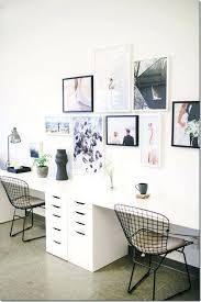two person desk home office. Two Person Desk Chair Design Ideas For Your Home Office Gallery Wall Desks . U