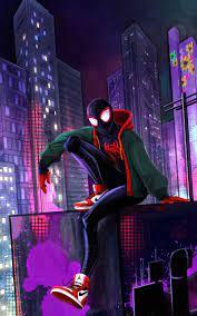 800x1280 Spider Man 4k Miles Nexus 7 ...