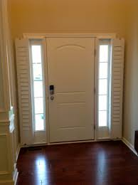 front door blindsEntry Door Sidelight Window Shutters  Cleveland Shutters