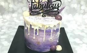 Female 40th Birthday Cake Designs Happy Fabulous Number Cupcake
