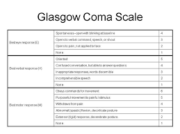 Pediatric Glasgow Coma Scale Chart Blog Archives Bertylmass