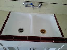 reglaze sink 14 reglazing cast iron kitchen los angeles orange county ca