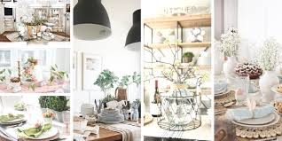 dining table decor for spring my