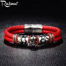 RUIMO 316L мужские <b>браслеты</b> из нержавеющей <b>стали браслет</b> ...