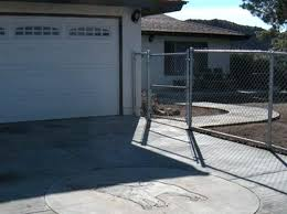 garage fence for dogs house garage door fence for dogs