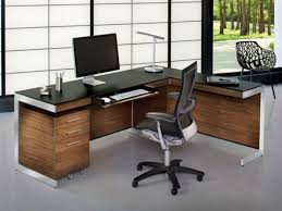 nice office desks.  Nice Nice Office Desks L Shaped Contemporary 25 Best Ideas About Modern Within  Desk 3 With F