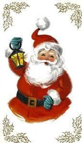 vintage santa claus face clipart. Unique Clipart Vintage Retro Santa Claus Christmas Card Lantern By BigGDesigns  Stockings Santas With Face Clipart U