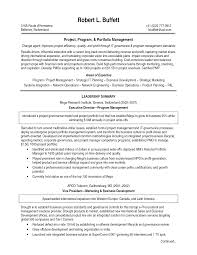 Program Manager Resume Sample Pdf Keywords Examples Objective