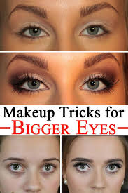makeup tricks for bigger eyes woman hacks makeup makeup tips and eyes