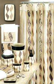 luxury bathroom sets with shower curtain and rugs and accessories and 29