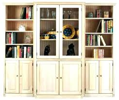 bookshelves with glass doors tall bookcase with glass doors bookshelf with glass doors and lock