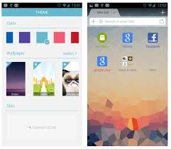 Browser Themes Dolphin Browser For Android Adds Themes Search Engine Partners