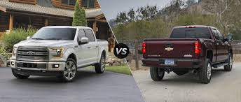 Ford F-150 vs 2016 Chevy Silverado