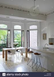 exceptionaltchen breakfast table adorable bar counter design using black stainless legs stools also rectangle glass dining