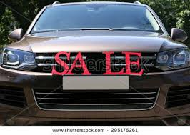 For Sale Sign On Car Sale Sign On Windshield Car Stock Photo Royalty Free 295175261