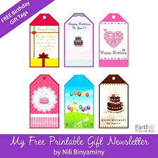Tags For Gifts Templates Free Printable Birthday Favor Tags Template Gift Cards Thaimail Co