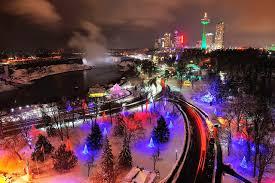 Niagara Falls Holiday Lights Niagara Falls Will Turn Into A Dreamy Winter Wonderland This