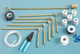 make a diy brass chandelier