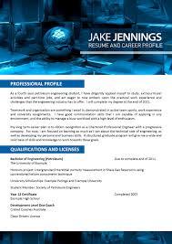 Engineering Resume Template 025