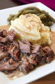 slow cooker sirloin steak and gravy