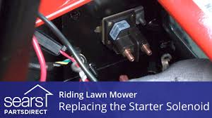 replacing a starter solenoid on a riding lawn mower youtube Universal Mower Wiring Harness replacing a starter solenoid on a riding lawn mower Universal Wiring Harness Diagram