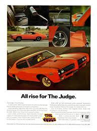 1969 Pontiac GTO Judge | Big Trucks and Fast Cars | Pinterest ...