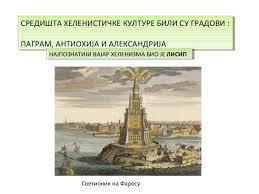 Резултат слика за helenisticko razdoblje