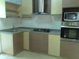 ... Kitchen Cabinets, Cream And Brown Rectangle Modern Wooden The Cheapest  Kitchen Cabinets Laminated Design For ...