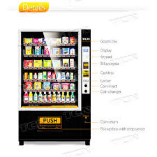Vending Machine Sandwiches Suppliers Cool China TCN Sandwich Salad Vegetable Vending Machine With Elevator On