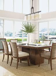 tropical dining room furniture. Brilliant Room Peninsula Dining Table To Tropical Room Furniture P