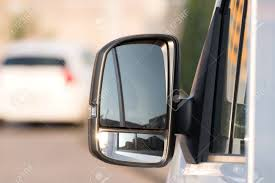 Exterior Mirrors Of A Pickup Truck Stock Photo, Picture And Royalty ...