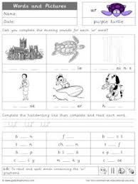 He will then need to decide which objects are wh words. Ur Phonics Worksheets And Games Galactic Phonics
