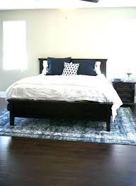 rug size for king bed under queen area guide floors what do i need 7 x 10