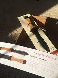 product review hori hori gardening knife from barebones garden