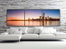 on new york city skyline canvas wall art with sunset on new york city canvas art large canvas wall art new