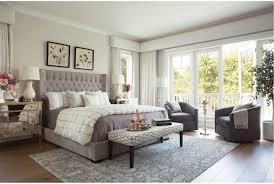 Living Spaces Bedroom Furniture Madeline Eastern King Upholstered Panel Bed Living Spaces