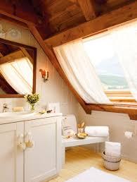 attic lighting ideas. Bathroom:Fantastic Bathroom In The Attic With Large Glass Wall And Beautiful Lighting Ideas O