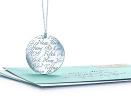 tiffany notes letter round pendant in 18k gold letters a z available tiffany co