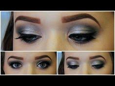 you new years eve makeup tutorial black and silver smokey eyes