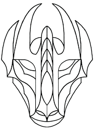 template of a dragon chinese opera face mask template dragon coloring pages printable
