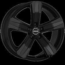 <b>7x17</b>   <b>Mak Stone 5</b> Gloss Black   Atraxion   Tyres-Wheels ...