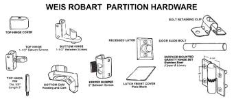 Bathroom Partition Hardware Magnificent Restroom Partition Hardware Inexpensive Hardware Replacement Toilet