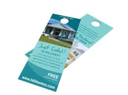 Free Door Hangers Templates Simple Real Estate Just Sold Door Hanger Template