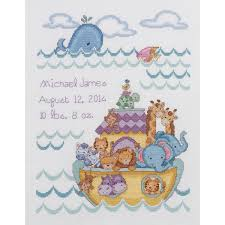 Cross Stitch Birth Announcement Patterns Free Awesome Decorating